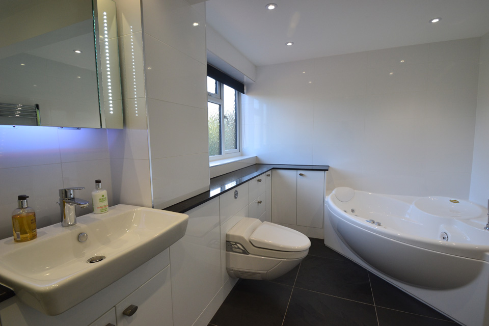 luxury bathroom units