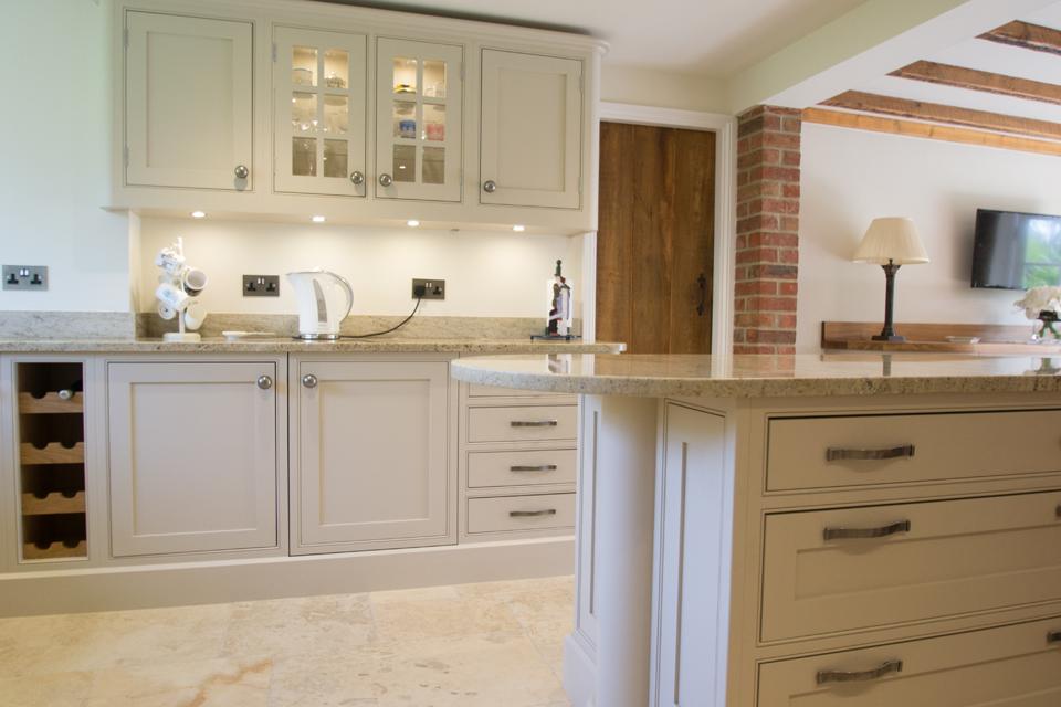 Traditional handmade kitchen in Aldeburgh