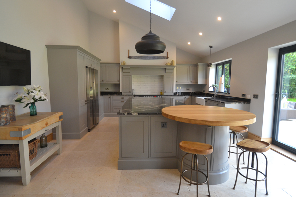 barn conversion kitchen suffolk